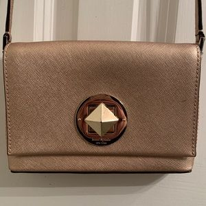 Kate Spade Rose Gold Crossbody